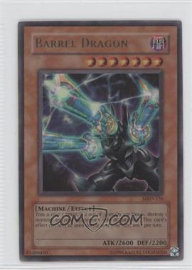 2002 Yu-Gi-Oh! Metal Raiders Booster Pack [Base] Unlimited #MRD-0126 - Barrel Dragon