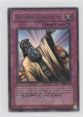 2002 Yu-Gi-Oh! Metal Raiders Booster Pack [Base] Unlimited #MRD-0127 - Solemn Judgment