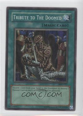 2002 Yu-Gi-Oh! Metal Raiders Booster Pack [Base] Unlimited #MRD-057 - Tribute to The Doomed
