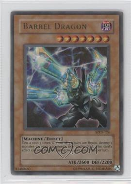 2002 Yu-Gi-Oh! Metal Raiders Booster Pack [Base] Unlimited #MRD-126 - Barrel Dragon
