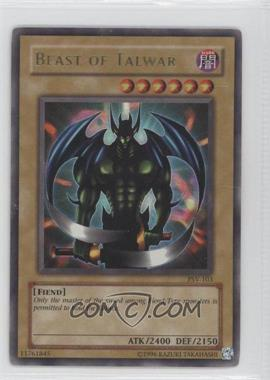 2002 Yu-Gi-Oh! Pharaoh's Servant Booster Pack [Base] Unlimited #PSV-103 - Beast of Talwar