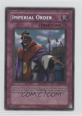 2002 Yu-Gi-Oh! Pharaoh's Servant Booster Pack [Base] Unlimited #PSV-104 - Imperial Order