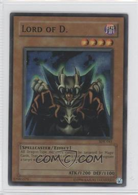 2002 Yu-Gi-Oh! Starter Deck Kaiba Unlimited #SDK-041 - Lord of D.