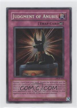 2003 Yu-Gi-Oh! Dark Crisis - Booster Pack [Base] - Unlimited #DCR-0105 - Judgment of Anubis