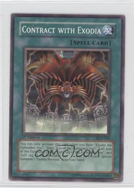 2003 Yu-Gi-Oh! Dark Crisis Booster Pack [Base] 1st Edition #DCR-031 - Contract with Exodia