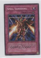 Spell Vanishing