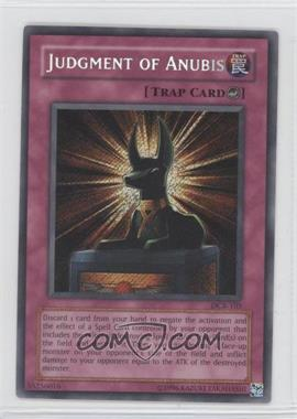 2003 Yu-Gi-Oh! Dark Crisis Booster Pack [Base] Unlimited #DCR-0105 - Judgment of Anubis