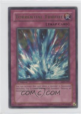 2003 Yu-Gi-Oh! Labryinth of Nightmare Booster Pack [Base] 1st Edition #LON-025 - Torrential Tribute
