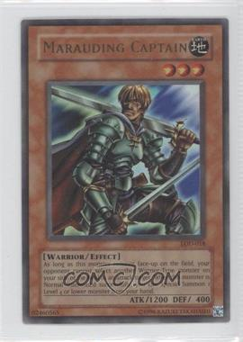 2003 Yu-Gi-Oh! Legacy of Darkness Booster Pack [Base] Unlimited #LOD-018 - Marauding Captain