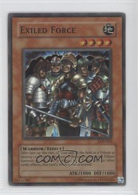 2003 Yu-Gi-Oh! Legacy of Darkness Booster Pack [Base] Unlimited #LOD-023 - Exiled Force