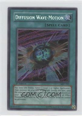 2003 Yu-Gi-Oh! Magician's Force Booster Pack [Base] 1st Edition #MFC-0107 - Diffusion Wave-Motion