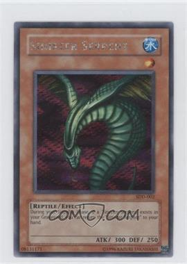 2003 Yu-Gi-Oh! Worldwide Edition - Stairway to a Destined Duel - Gameboy Advance Promos #SDD-002 - Sinister Serpent