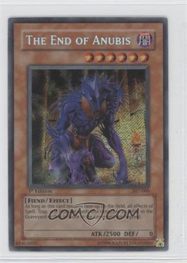 2004 Yu-Gi-Oh! Ancient Sanctuary Booster Pack [Base] 1st Edition #AST-000 - The End of Anubis