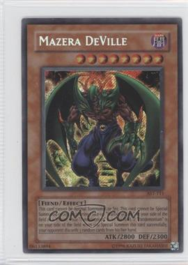 2004 Yu-Gi-Oh! Ancient Sanctuary Booster Pack [Base] Unlimited #AST-0111 - Mazera DeVille