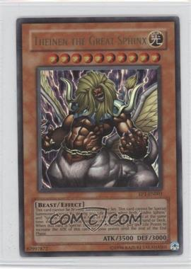 2004 Yu-Gi-Oh! Exclusive Pack Pyramid of Light Movie Promos [Base] #EP1-EN001 - Theinen the Great Sphinx