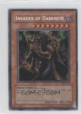2004 Yu-Gi-Oh! Invasion of Chaos - Booster Pack [Base] - Unlimited #IOC-111 - Invader of Darkness