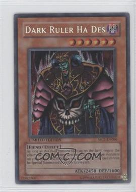 2004 Yu-Gi-Oh! Master Collection Volume 1 Limited Edition Promos #MC1-EN006 - Dark Ruler Ha Des
