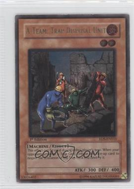 2004 Yu-Gi-Oh! Rise of Destiny Booster Pack [Base] 1st Edition #RDS-033.2 - A-Team: Trap Disposal Unit (Ultimate Rare)