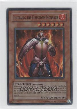 2004 Yu-Gi-Oh! Rise of Destiny Booster Pack [Base] Unlimited #RDS-021 - Thestalos the Firestorm Monarch