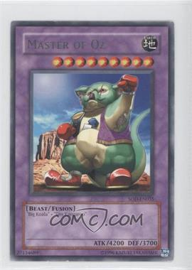 2004 Yu-Gi-Oh! Soul of the Duelist - Booster Pack [Base] - Unlimited #SOD-EN035.1 - Master of Oz (Rare)
