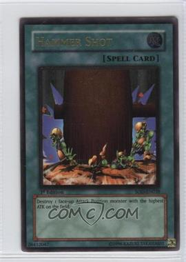 2004 Yu-Gi-Oh! Soul of the Duelist Booster Pack [Base] 1st Edition #SOD-EN038.2 - Hammer Shot (Ultimate Rare)