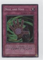 Null and Void (Super Rare)