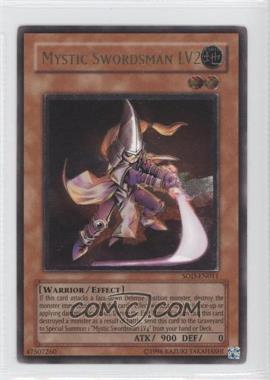 2004 Yu-Gi-Oh! Soul of the Duelist Booster Pack [Base] Unlimited #SOD-EN011.1 - Mystic Swordsman LV2