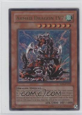 2004 Yu-Gi-Oh! Soul of the Duelist Booster Pack [Base] Unlimited #SOD-EN0115.1 - Armed Dragon LV7 (Ultra Rare)