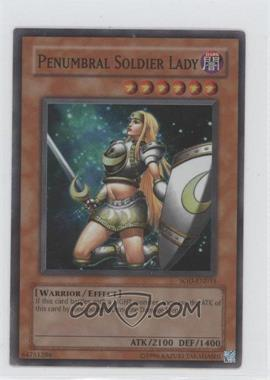 2004 Yu-Gi-Oh! Soul of the Duelist Booster Pack [Base] Unlimited #SOD-EN033.1 - Penumbral Soldier Lady (Super Rare)