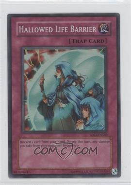 2004 Yu-Gi-Oh! Soul of the Duelist Booster Pack [Base] Unlimited #SOD-EN060.1 - Hallowed Life Barrier (Super Rare)