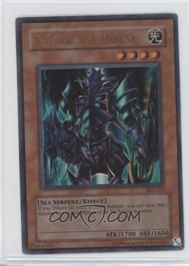 2004 Yu-Gi-Oh! Starter Deck Kaiba Evolution - [Base] - Unlimited #SKE-015 - Kaiser Sea Horse