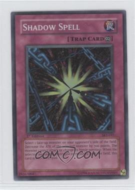 2004 Yu-Gi-Oh! Starter Deck Kaiba Evolution 1st Edition #SKE-041 - Shadow Spell