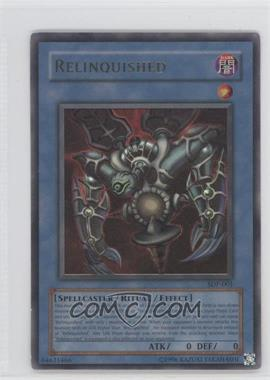 2004 Yu-Gi-Oh! Starter Deck Pegasus Unlimited #SDP-001 - Relinquished