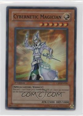 2005 Yu-Gi-Oh! Cybernetic Revolution - Booster Pack [Base] - 1st Edition #CRV-EN016.1 - Cybernetic Magician (Super Rare)