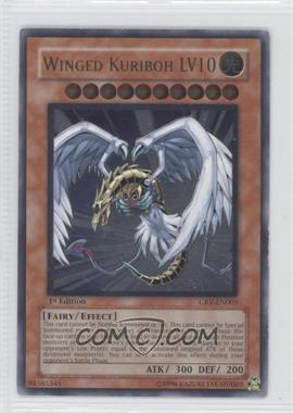 2005 Yu-Gi-Oh! Cybernetic Revolution Booster Pack [Base] 1st Edition #CRV-EN005.1 - Winged Kuriboh LV10