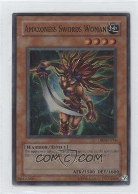 2005 Yu-Gi-Oh! Dark Revelation Volume 1 Booster Pack [Base] #DR1-EN116 - Amazoness Swords Woman