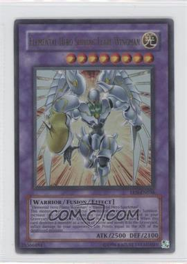 2005 Yu-Gi-Oh! Elemental Energy Booster Pack [Base] Unlimited #EEN-EN036.1 - Elemental HERO Shining Flare Wingman