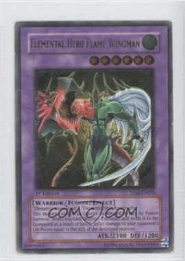 2005 Yu-Gi-Oh! The Lost Millenium - Booster Pack [Base] - 1st Edition #TLM-EN035.2 - Elemental HERO Flame Wingman