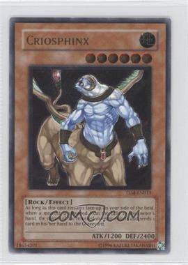 2005 Yu-Gi-Oh! The Lost Millenium Booster Pack [Base] Unlimited #TLM-EN013.1 - Criosphinx (Ultimate Rare)