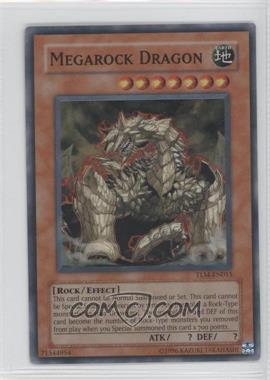 2005 Yu-Gi-Oh! The Lost Millenium Booster Pack [Base] Unlimited #TLM-EN015.1 - Megarock Dragon (Super Rare)