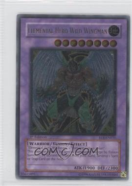 2006 Yu-Gi-Oh! Enemy of Justice Booster Pack [Base] 1st Edition #EOJ-EN035 - Elemental HERO Wild Wingman