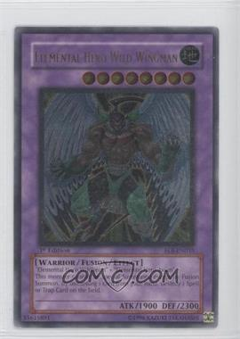 2006 Yu-Gi-Oh! Enemy of Justice Booster Pack [Base] 1st Edition #EOJ-EN035.2 - Elemental HERO Wild Wingman