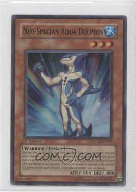 2006 Yu-Gi-Oh! Power of the Duelist - Booster Pack [Base] - 1st Edition #POTD-EN003.1 - Neo-Spacian Aqua Dolphin