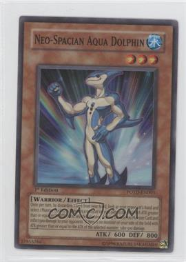 2006 Yu-Gi-Oh! Power of the Duelist Booster Pack [Base] 1st Edition #POTD-EN003.1 - Neo-Spacian Aqua Dolphin