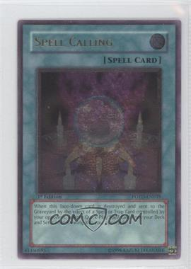 2006 Yu-Gi-Oh! Power of the Duelist Booster Pack [Base] 1st Edition #POTD-EN039.2 - Spell Calling