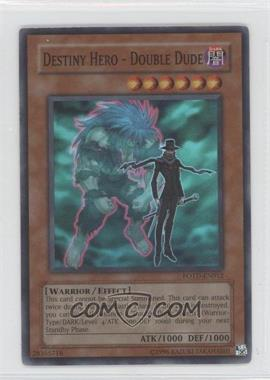 2006 Yu-Gi-Oh! Power of the Duelist Booster Pack [Base] Unlimited #POTD-EN012 - Destiny HERO - Double Dude