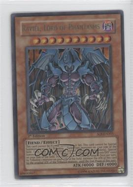 2006 Yu-Gi-Oh! Shadow of Infinity Booster Pack [Base] 1st Edition #SOI-EN003.1 - Raviel, Lord of Phantasms (Ultra Rare)