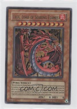 2006 Yu-Gi-Oh! Shadow of Infinity Booster Pack [Base] Unlimited #SOI-EN001 - Uria, Lord of Searing Flames