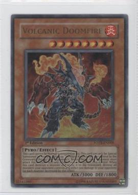 2007 Yu-Gi-Oh! Force of the Breaker Booster Pack [Base] 1st Edition #FOTB-EN008.1 - Volcanic Doomfire