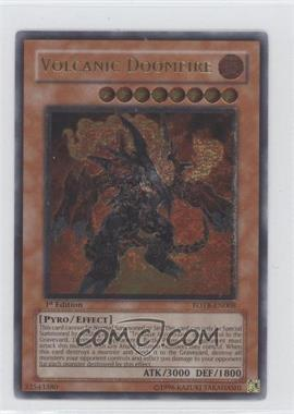 2007 Yu-Gi-Oh! Force of the Breaker Booster Pack [Base] 1st Edition #FOTB-EN008.2 - Volcanic Doomfire (Ultimate Rare)